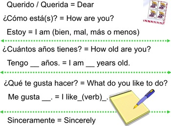 Spanish greetings letter format by ashley konieczko tpt spanish greetings letter format m4hsunfo