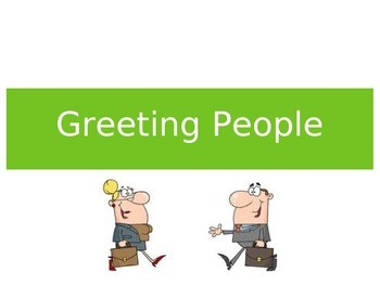 Spanish Greetings, Manners, and Saying Goodbye - Keynote for Mac, iPad, iPhone