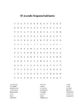 Spanish Greetings & Spanish-Speaking Countries