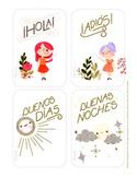 Spanish Greetings - Unit 1 Lesson 1 (Basic Level Spanish)