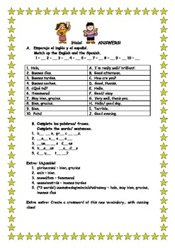 Spanish teaching resources greetings worksheet by lovemfl tpt spanish teaching resources greetings worksheet m4hsunfo