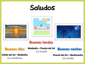 Spanish Greetings and Introducing yourself - Saludos y Presentaciones Español