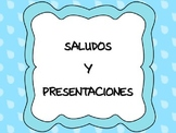 Spanish Greetings and Introducing yourself - Saludos y Pre