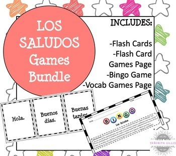 Spanish Greetings and Introductions Flash Cards & Games
