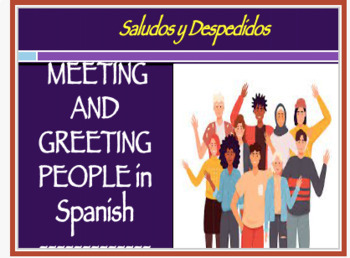 Spanish Greetings and Introductions Lesson