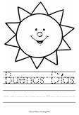 Spanish Greetings worksheets for Kindergarten