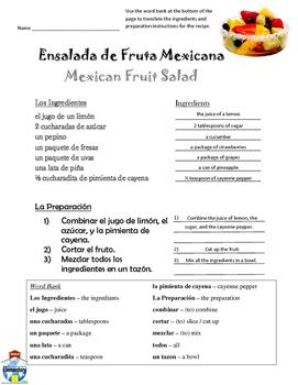 Spanish Groceries