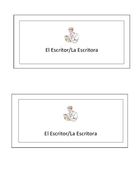 Spanish Group Activity Role Cards