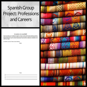 Spanish Group Project: Professions and Careers