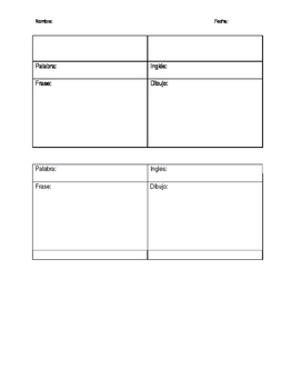 Spanish Group Reading Worksheet (Multi-level)