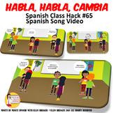 Spanish Group Speaking Activity Habla Habla Cambia Transit