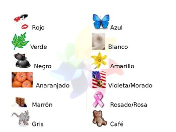 Spanish Guided Color Notes