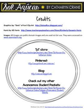 Avancemos 1 Unit 2 Lesson 1 Student Handouts & Notes