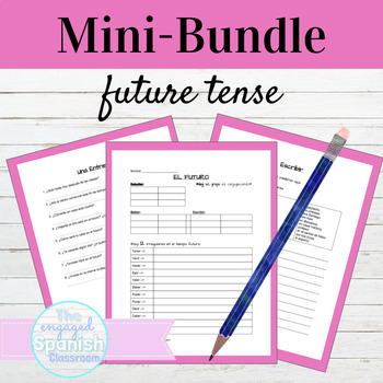 Spanish 3 Future MINI BUNDLE: Guided Notes, Practice, & In