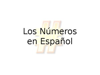 Spanish- Guided Number Notes 1-31