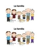 Spanish Guided Reading Book - La familia