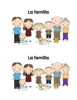 Spanish Guided Reading Book - La familia