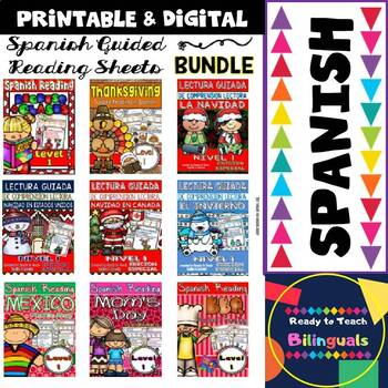 Spanish Guided Reading - Bundle with Translation Sheets