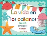 Spanish Guided Reading Ocean Life