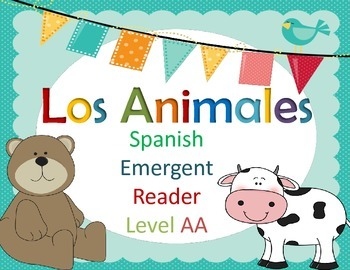 Spanish Guided Reading Animals