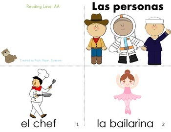 Spanish Guided Reading People