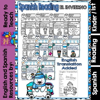Spanish Guided Reading - Winter - Level 1