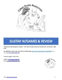 Introduction to Gustar with powerpoints, activities, and p