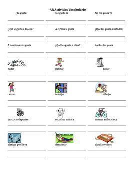 Spanish Gustar Lessons Bundle