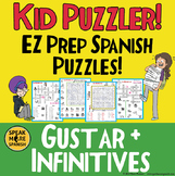 *Spanish Gustar Puzzles. Crosswords and Word Searches for Young Learners.