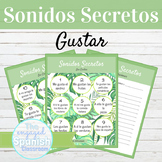 Spanish Gustar Sonidos Secretos Speaking Activity