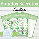 Spanish Gustar Sonidos Secretos Speaking Activity