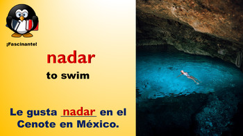 Spanish Gustar, Vocabulary, and Mexico Powerpoint. Juegos de Vocabulario!