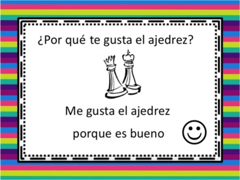 Spanish Gustar with Porque Powerpoint