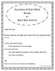 Spanish HFW & Vocabulary