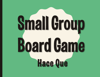 Spanish Hace Que Board Game