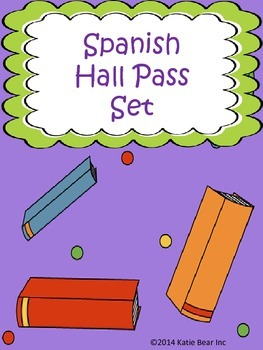 Spanish Hall Pass Set