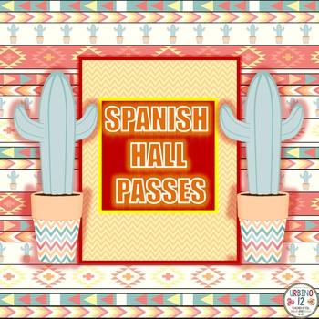 Spanish Hall Passes
