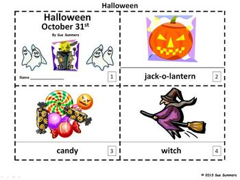 Halloween Emergent Readers 2 Booklets
