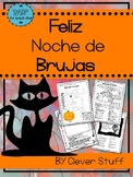 Spanish Halloween Activities. La noche de Brujas.