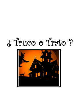 Spanish Halloween Activity * Pac ~ Noche de Brujas