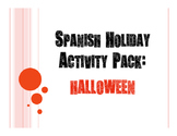 Spanish Halloween Activity Pack