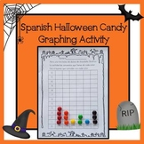 Spanish Halloween Candy Graphing Activity