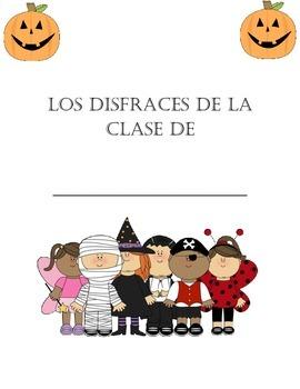 Spanish Halloween Class Book