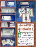 Spanish Halloween Color Activities Set 1