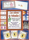 Spanish Halloween Color Activities Set 2