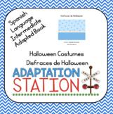 Spanish Halloween Costumes Book and Worksheet Set