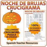 Spanish Halloween Crossword