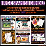 Spanish Halloween Día de los Muertos Activity Bundle Boom