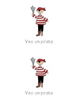 Spanish Halloween Emergent Reader