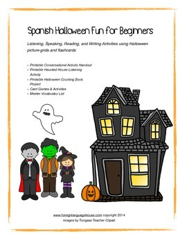 Spanish Halloween Fun for Beginners